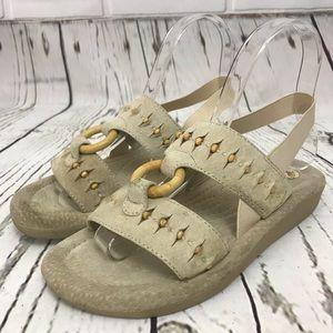 Earth shoe sandal slip on hiking comfort moccasin